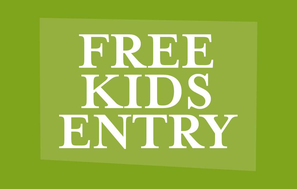 Kids Free Entry